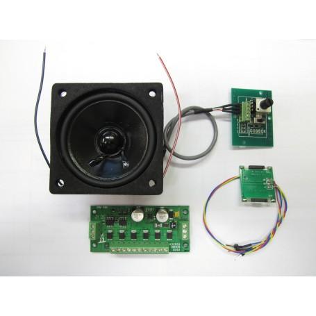 Piko 36220 (G) American Steam Sound Kit, DC/DCC