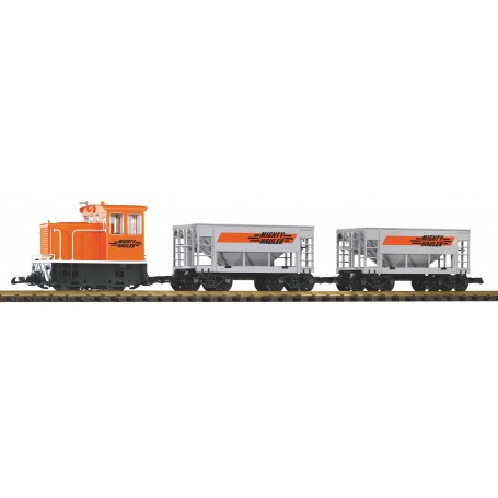 Piko 38150 Might Hauler GE 25-Ton Starter Set