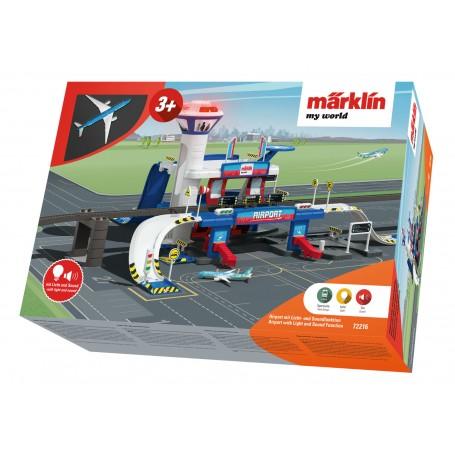 Märklin my world 72216 - Airport with Light and Sound Function
