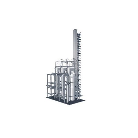 TRIX 66166 (HO) Building Kit for Hot Blast Towers