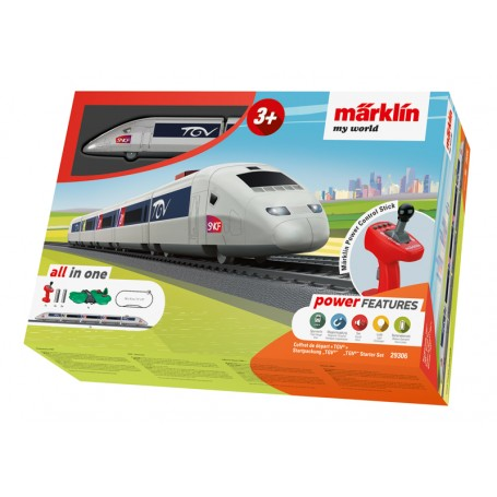 "Märklin My World 29306 ""TGV"" Starter Set (HO)"