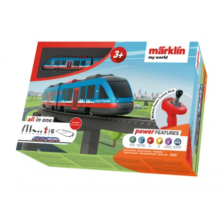 "Märklin My World 29307 (HO) ""Airport Express - Elevated Railroad"" Starter Set"