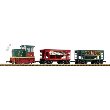 Piko 38152 (G) North Pole Hauler GE 25-Ton Starter Set