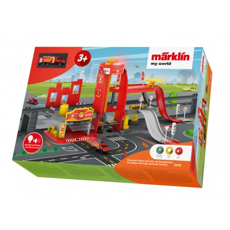 Märklin My World 72219 (HO) Fire Station with Light and Sound Function