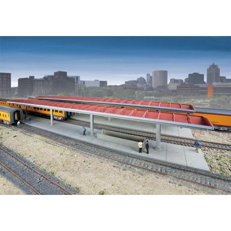 Walthers Cornerstone 3391 (HO) Station Platform -- Kit
