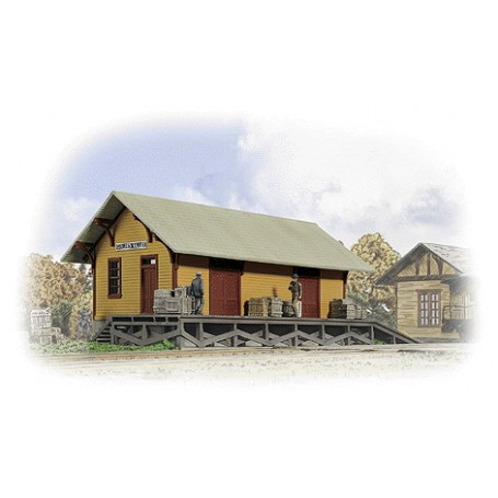 Walthers Cornerstone 3533 (HO) Golden Valley Freight House - Kit
