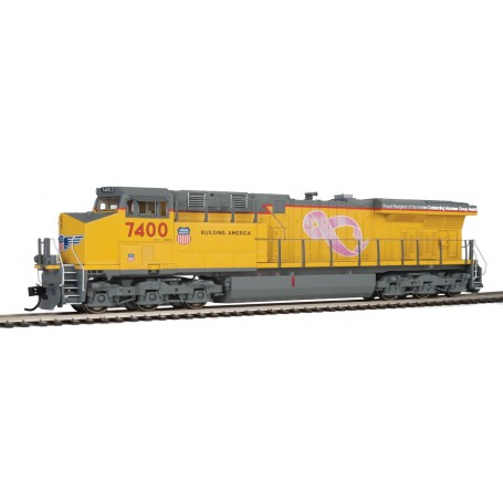 Walthers Mainline 20194 (HO) GE ES44 Evolution Union Pacific 7400 - ESU® DCC and Sound