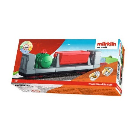 Märklin My World 44275 (HO) Four-Axle Low Side Car (Click and Mix)