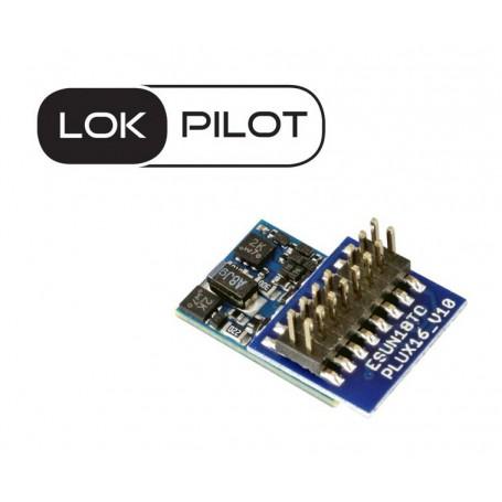 ESU 59824 LokPilot 5 micro DCC, PluX16, gauge N, TT
