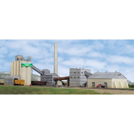Walthers Cornerstone 3098 (HO) Valley Cement Plant -- Kit
