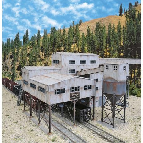 Walthers Cornerstone 4046 (HO) Diamond Coal Corporation -- Kit