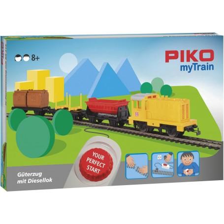 Piko 57090 (HO) myTrain Diesel Freight Starter Set