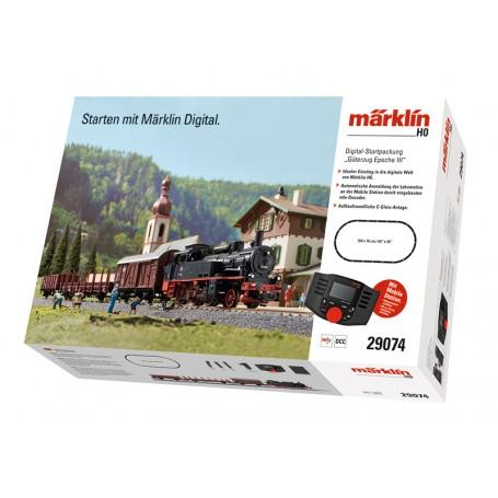 """""""Era III Freight Train"""" Digital Starter Set (HO) Märklin Start Up 29074"""