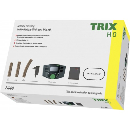 Trix 21000 (HO) Digital Starter Pack with DCC Mobile Station