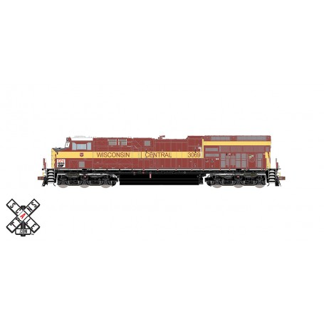 ScaleTrains Rivet Counter (HO) GE ET44AC GEVO, Canadian National/Wisconsin Central Heritage - DCC/Sound