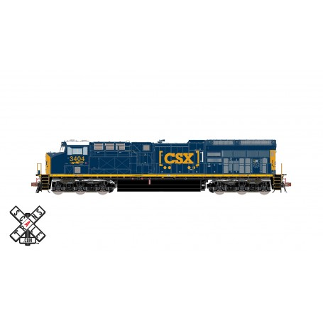 ScaleTrains Rivet Counter (HO) GE ET44AH GEVO, CSX/YN3 Boxcar Logo - DCC/Sound