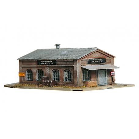 PIKO 60011 (N) Warwick Workshop, Building Kit