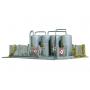 PIKO 60012 (N) Warwick Oil Tanks, Building Kit