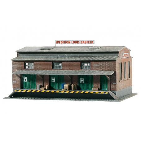 PIKO 60015 (N) Louis Baufeld Forwarder, Building Kit