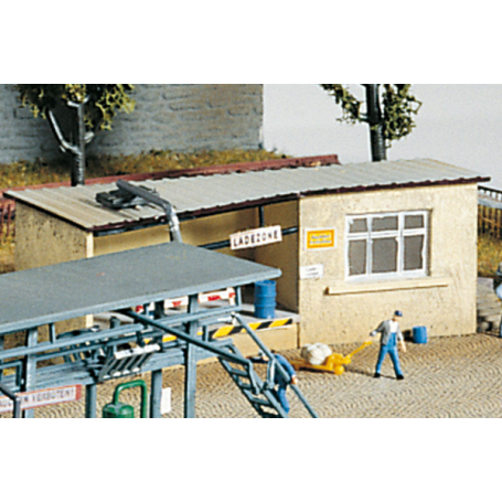 PIKO 60022 (N) Filling Station Office, Building Kit