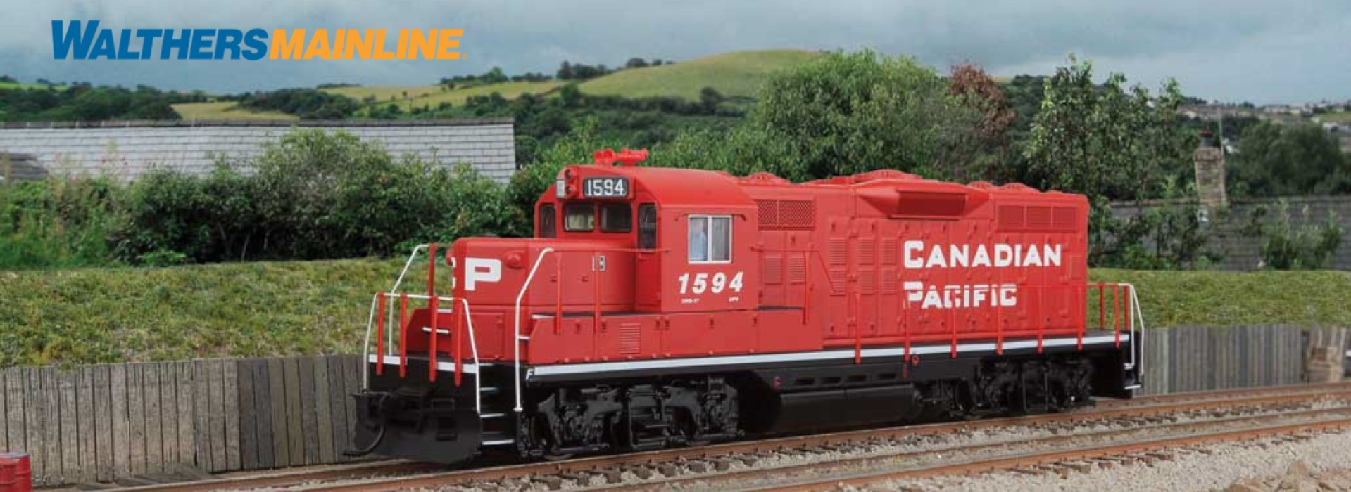 WALTHERS Mainline GP9 Canadian Pacific